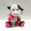 Plush Valentine Gifts Cow Stuffed Cartoon Cow Dolls