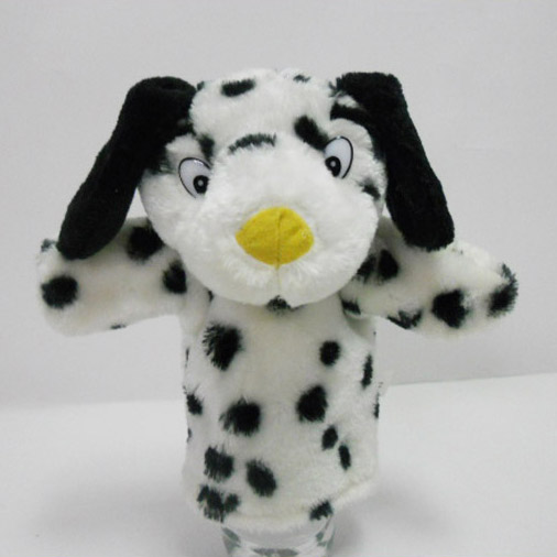 Plush Stuffed Toy Dog Hand Puppet for Kids