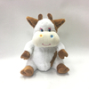 Hot Sale Soft Brown Cow Shaped Plush Backpacks