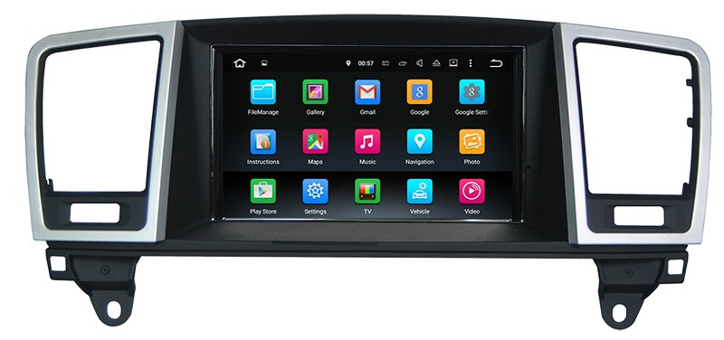 "7""Anti-Glare Auto Stereo for Benz ML / GL Android 7.1 with Carplay"