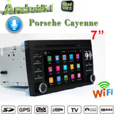 Prosche Cayenne carplay car dvd gps navigation android 7.1 flash 2+16G