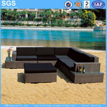 PE Rattan Sofa for Garden Hotel Furniture Patio Furniture