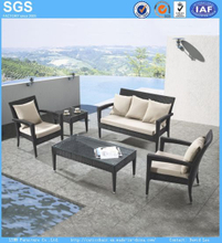 Cheap PE Rattan Sofa Chair Patio Furniture