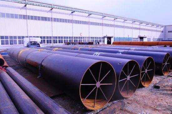 Oil and Gas Pipeline Carbon Wide Diameter Steel Pipe Lasw