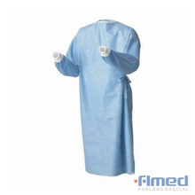 Barrier Tie Back Sterile Surgical Gown with Towels