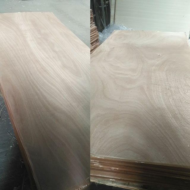 Commercial okoume face plywood packing