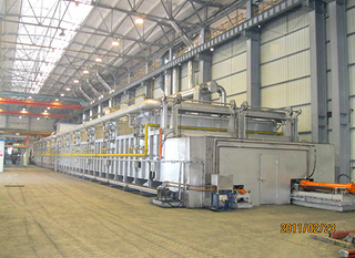 Continuous Annealing furnace for Iron steel Castings