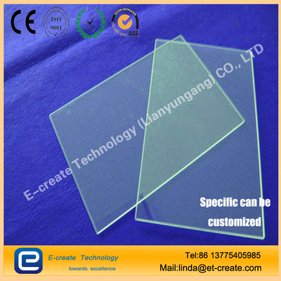 Optical quartz sheet Quartz substrate colorless and transparent without bubbles