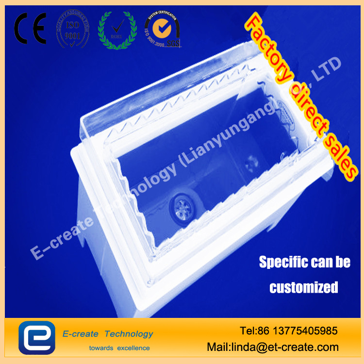 Quartz glass cleaning tank | Quartz square cylinder |fused silica tank |high quality quartz cleaning tank