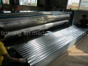 Hdgi Cold Rolled Corrugated Galvanized Iron Roofing Tile for Ghana