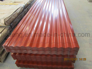 Color Coated Roofing/Colour Coated Steel Roof Tile for Saudi Arabia