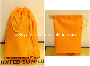 Non Woven Drawstring Bag Orange Color (LYD18)