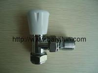 DN15 angle Lockshiled valve