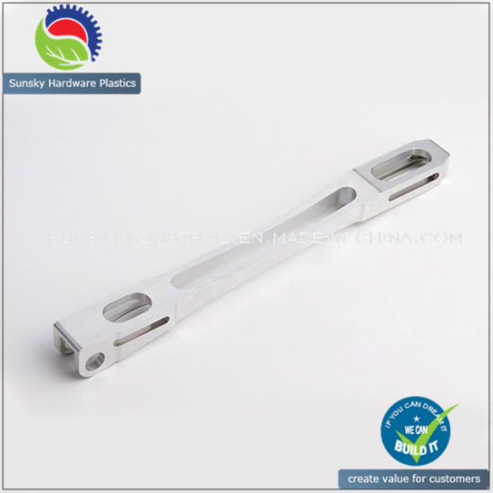 CNC Precision Alum Part Sliding Bar (AL12046)