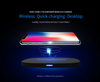 Airpower Quick Wireless Charger Desktop Qi Phone Charger for iPhone X Airpods