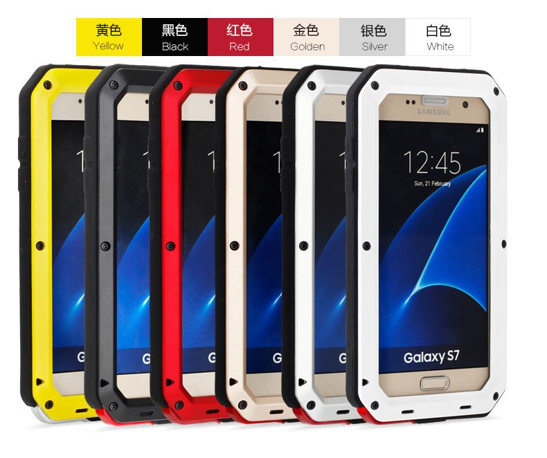 Multicolor Waterproof Mobile/Cell Phone Case for Samsung S7 Edge