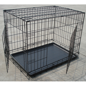 Wire Folding Iron Dog Cage