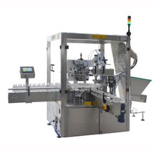 jar can tin spice film sealing & capping machine