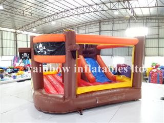 RB3015(4x3.4x2.2m) Inflatables Pirate Theme Bouncer With Slide For Theme Park
