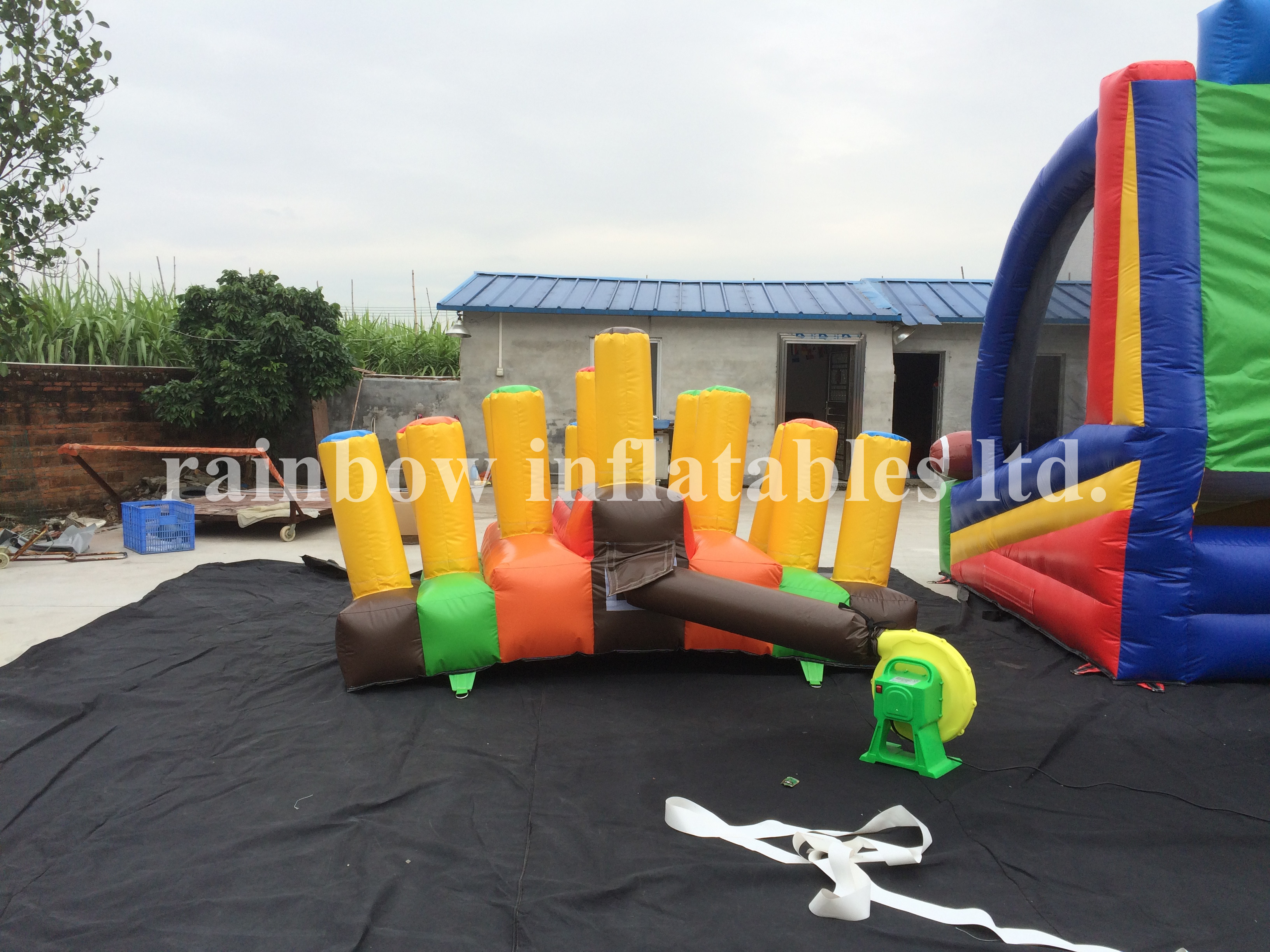 RB9117(3.5x3m ) Inflatable Commercial Ring Toss Game /Ring Toss Challenge Games