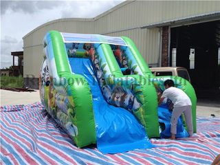 RB8019(5x3x3m) Inflatable safari theme slide for kids