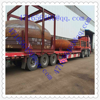 big diameter steel elliptical Tank Head transportation