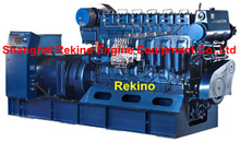 Weichai WHM6160 series 200-300KW 50HZ medium speed marine diesel generator set