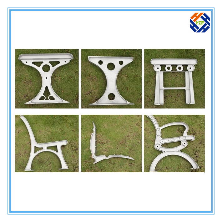 Garden Bench End Outdoor Furniture by Die Casting Processing-1