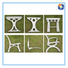 Garden Bench End Outdoor Furniture by Die Casting Processing