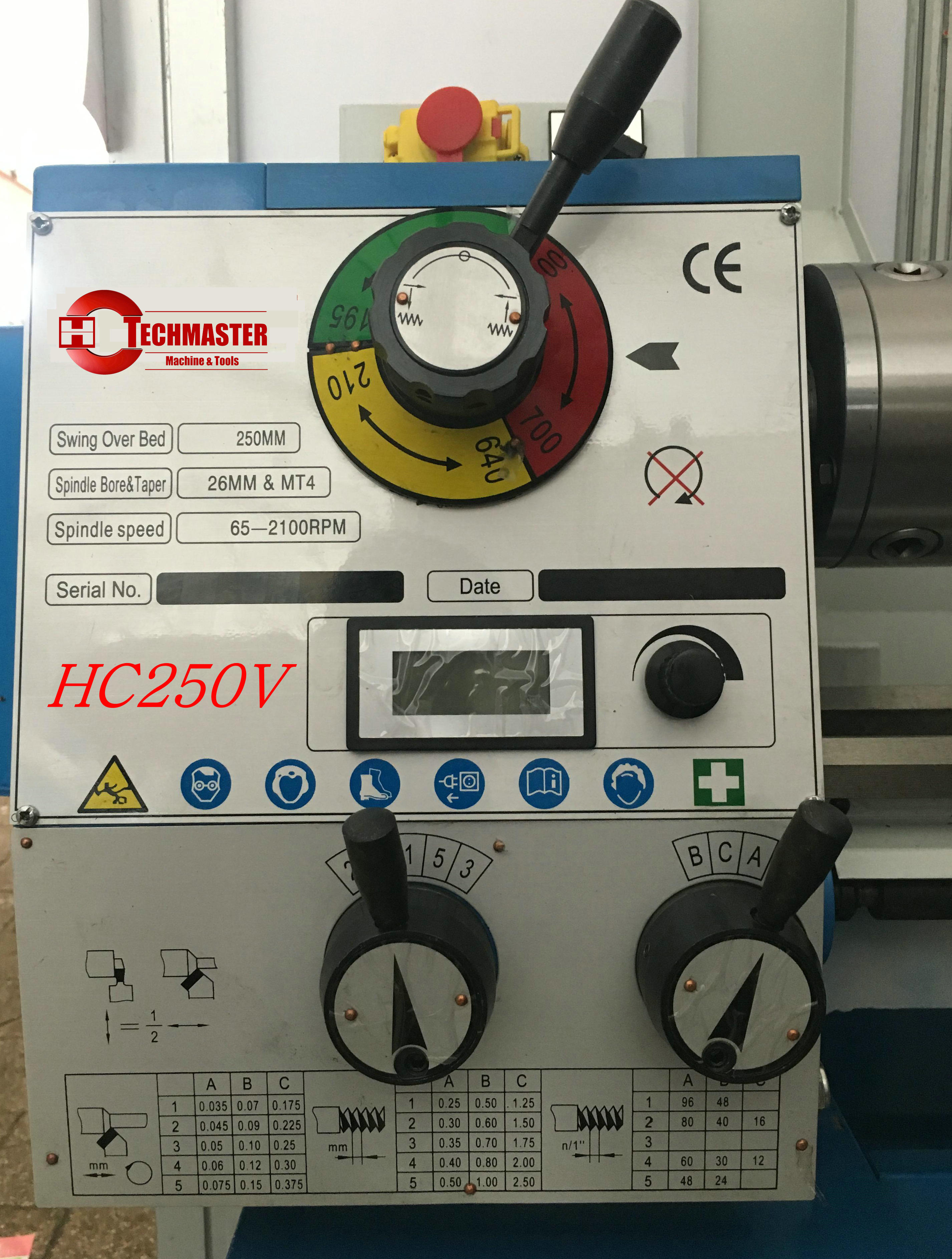 VARIO SPEED HC250V BENCH LATHE BRUSH LESS MOTOR