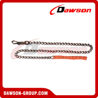 Animal Chain Dog Lead con Mango de Nylon Mango de PVC