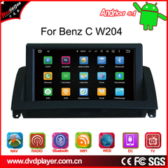 carplay android 7.1 car stereo for benz C w204 Anti-Glare OBD,DAB wifi connection