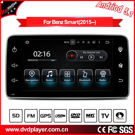 "9""Anti-Glare Smart 2015 radio navigation car stereo android carplay"