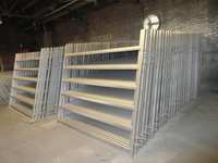 2.1m*1.8m 6 rails hot dipped galvanized Cattle panels