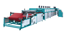 Automatic Two Color Roll to Roll Non-Woven Fabric Screen Printing Machine