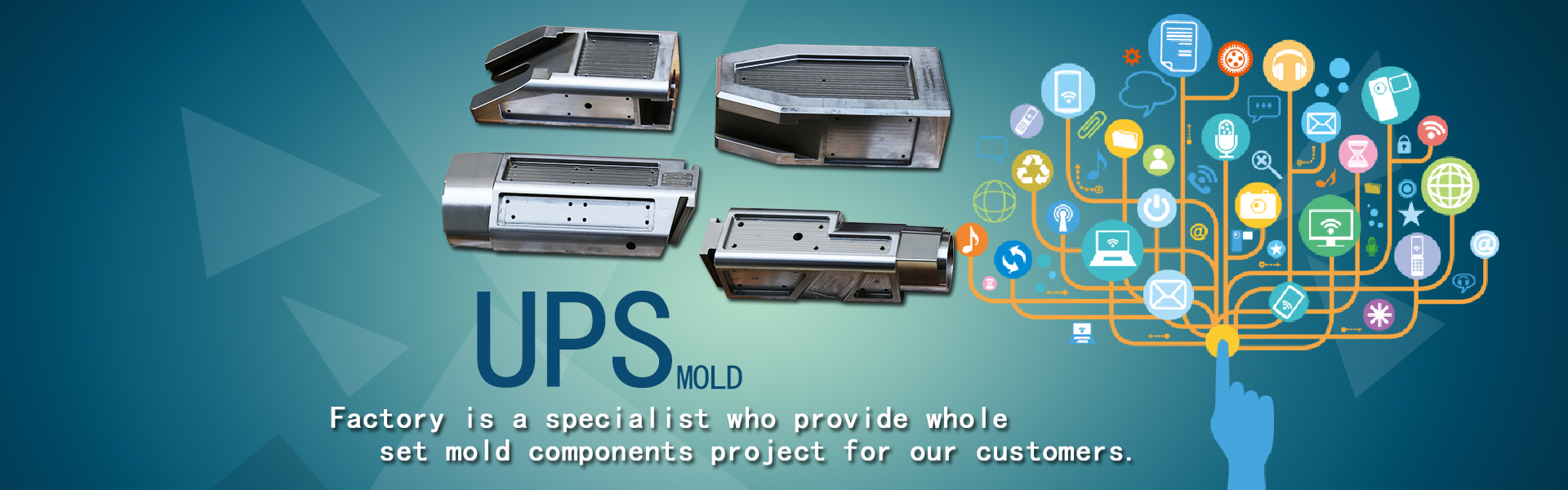 customized auto injection mold components