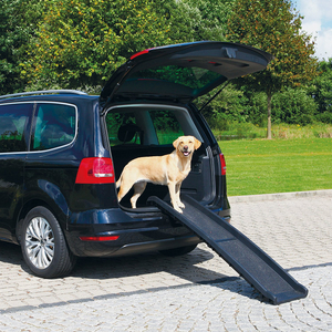 Lightweight Plastic Pet Folding Ramp Dog Vehicle Nonslip Ramp