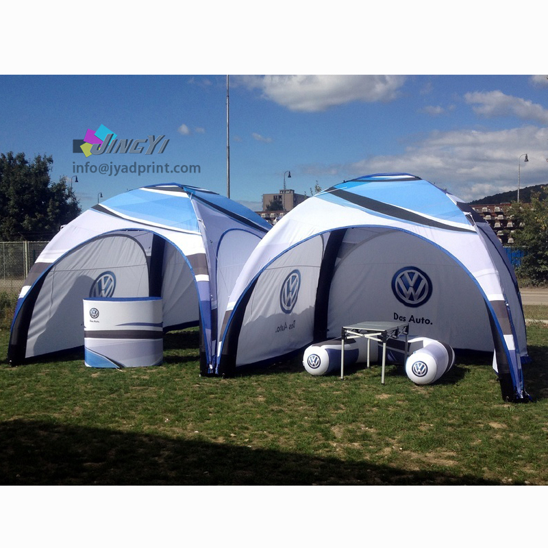 6X6X3.4M Custom Printed inflatable Air Dome Tradeshow Exhibition Event GazeboTent
