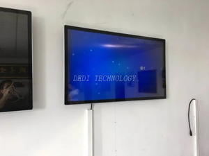 32 Inch LCD Monitor USB Media Advertising Player Digital Signage
