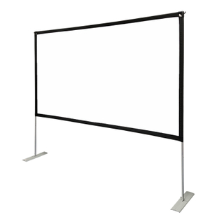 Foldable Portable Outdoor Movie Screen with stand, Outdoor Projector Screen
