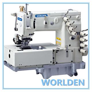 WD-1508P平床双链形缝法设备与水平的尺蠖移动结构