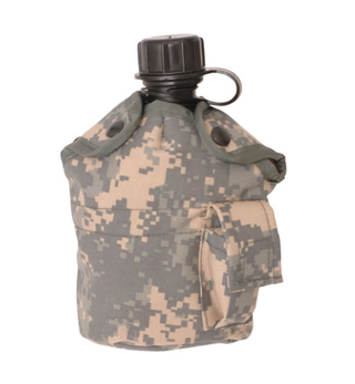 Military Us Waterbottle with Canteen Cover