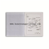 Composition book staple binding seyes french line for student