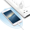Surge Protector 5 Outlets 2 Smart USB Ports White