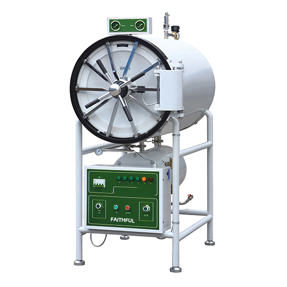 Horizontal cylindrical pressure steam sterilizer-FSF-YDA