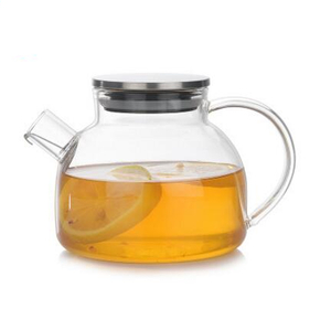 Glass teapots,glass tea kettle,made of heat-resistant glass,borosilicate glass with filter