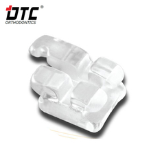 DTC poly-crystalline brackets for dental consumables