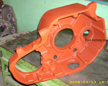 Iron casting machining