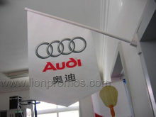 Car Sales Shop Indoor Decoration Advertising Wall Flag