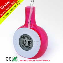 ECo Friendly Multi Functions Patented Water Power Alarm Clock Calender Temerature XD-222